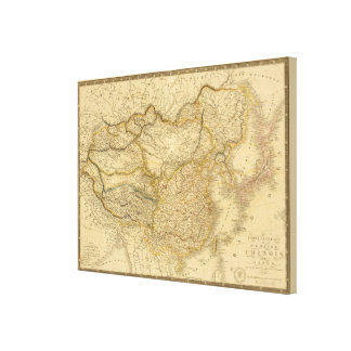 Chinese Empire Canvas Print