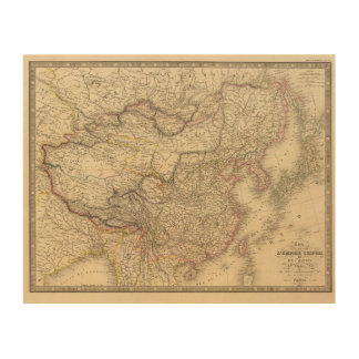 Chinese Empire, Japan Wood Print