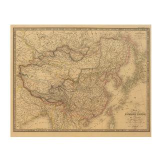Chinese Empire Japan Wood Print