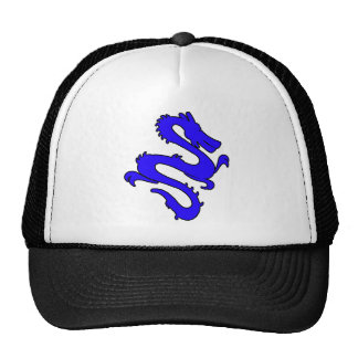 Chinese Enter The Dragon Kung Fu Symbol Trucker Hat