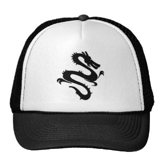 Chinese Enter The Dragon Kung Fu Symbol Trucker Hats