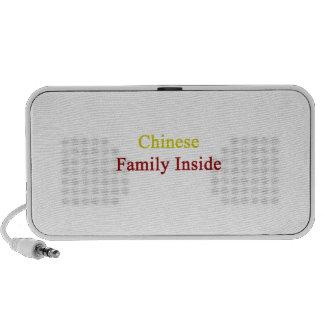 Chinese Family Inside Speaker System