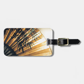 Chinese Fan Luggage Tag