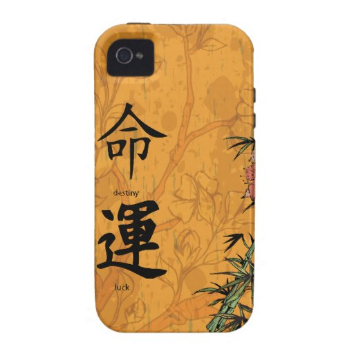 Chinese Feng Shui Destiny & Luck iPhone 4 Case