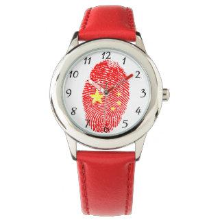 Chinese fingerprint watch