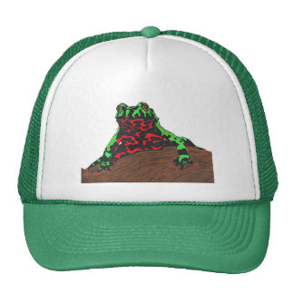 Chinese Fire Bellied Toad Mesh Hats