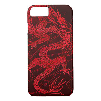 Chinese Fire Dragon iPhone 7 Case