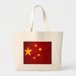 Chinese Flag Tote Bag