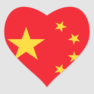 Chinese Flag Stickers