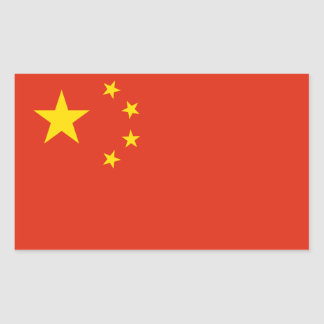 Chinese Flag Sticker