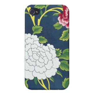 Chinese Flower Design iPhone 4/4S Covers