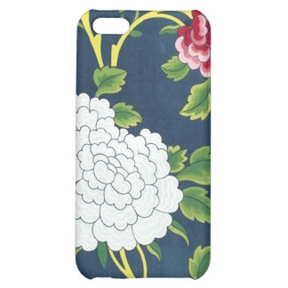 Chinese Flower Design iPhone 5C Covers