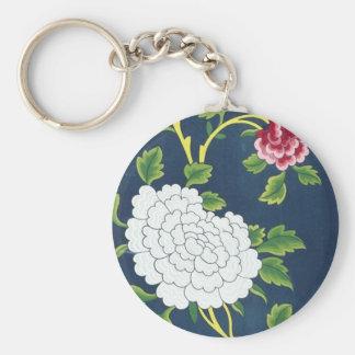Chinese Flower Design Keychains