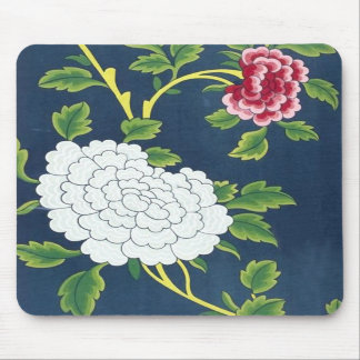 Chinese Flower Design Mousepads