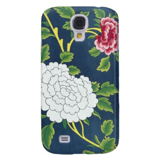 Chinese Flower Design Samsung Galaxy S4 Covers