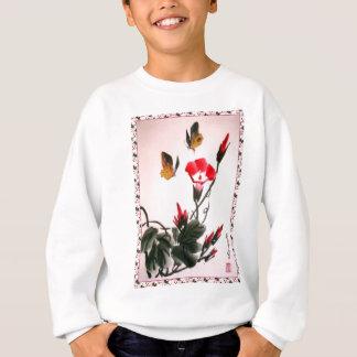 Chinese flowers 2 sweatshirt
