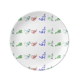 Chinese Folk Designs Plate