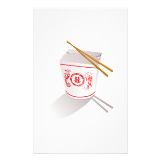 Chinese Food Customized Stationery