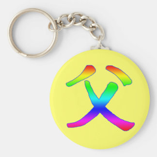 Chinese for Father Products Key Chain