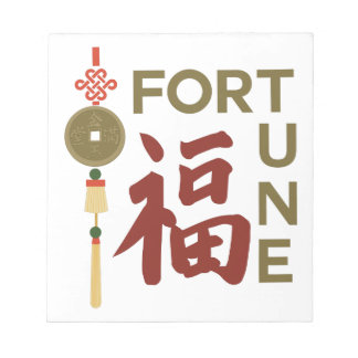 Chinese  Fortune Scratch Pad