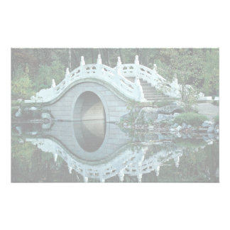 Chinese garden, Duisburg Zoo, Germany Customized Stationery