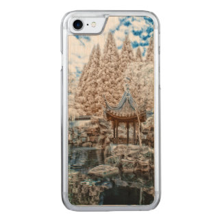 Chinese Garden Infrared Carved iPhone 7 Case