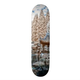 Chinese Garden Infrared Skateboard