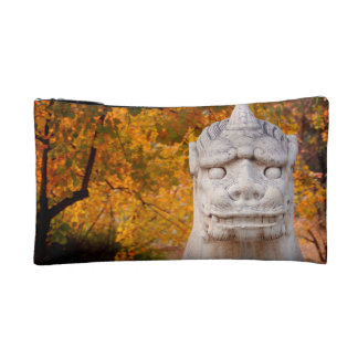 Chinese Garden Statue Makeup Bags