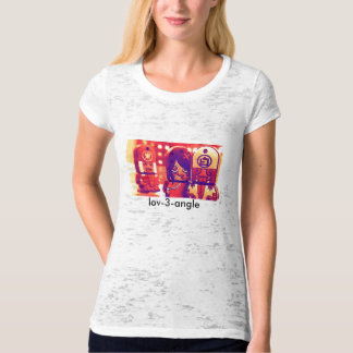 Chinese Ghoul  Love Triangle Tshirt