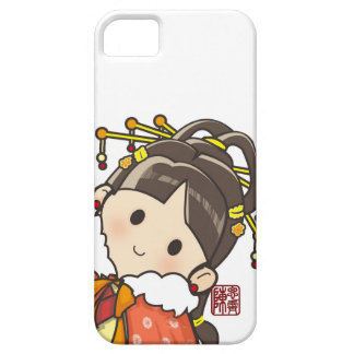 Chinese Girl Barely There iPhone 5 Case