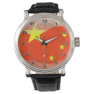 Chinese glossy flag watch
