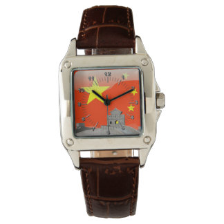 Chinese glossy flag watches