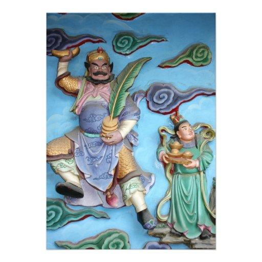 Chinese Gods Custom Invite