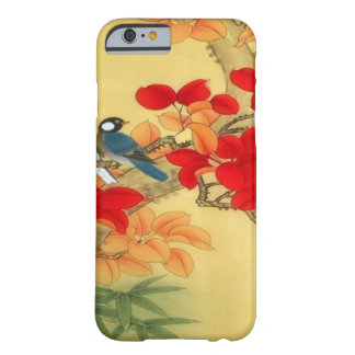 Chinese Gold and Red Floral Barely There iPhone 6 Case