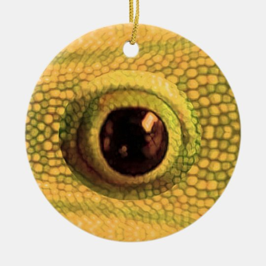 Chinese GoodLuck Charm : Dragon Eye Christmas Ornament