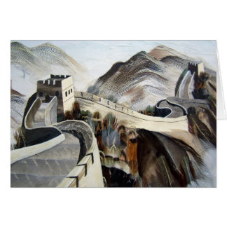 Chinese Great Wall Greeting Card