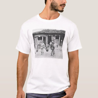 Chinese Hawkers, c.1870 (b/w photo) T-Shirt