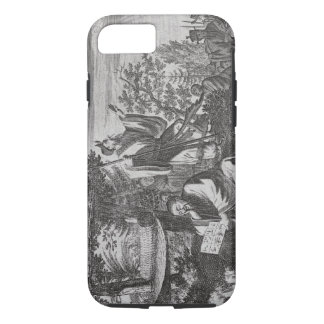 Chinese Holy Men, illustration from a description iPhone 8/7 Case