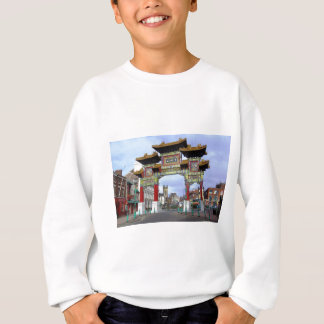 Chinese Imperial Arch, Liverpool UK Sweatshirt