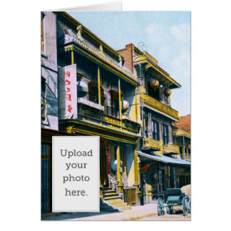 Chinese Joss House Greeting Card