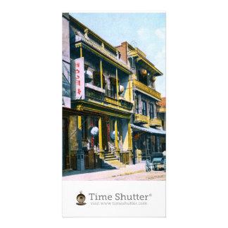 Chinese Joss House Custom Photo Card