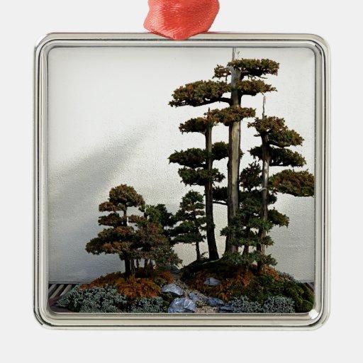 Chinese Juniper Bonsai Trees Christmas Tree Ornaments