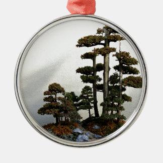 Chinese Juniper Bonsai Trees Christmas Ornament