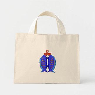 Chinese knots: prosperity mini tote bag