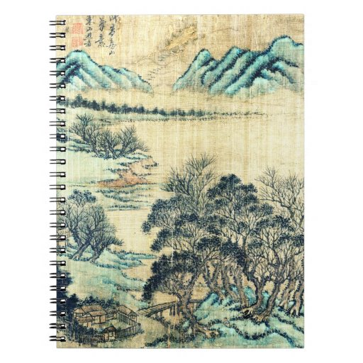 Chinese Landscape 1730 Note Book