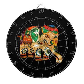 Chinese Lantern Elephant Dartboard