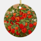 Chinese Lantern Plant Christmas Ornament