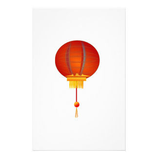 Chinese Lantern Customized Stationery