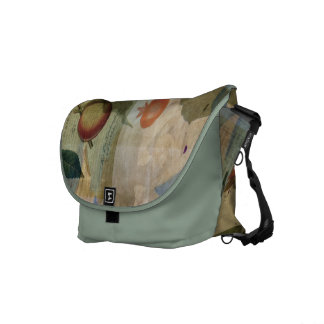 Chinese Lantern Surrounded Messenger Bag