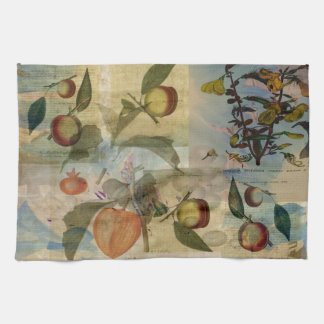 Chinese Lantern Surrounded Tea Towel